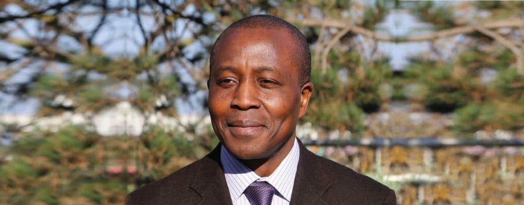Le Directeur Général de l'APTH Léopold Tzeuton